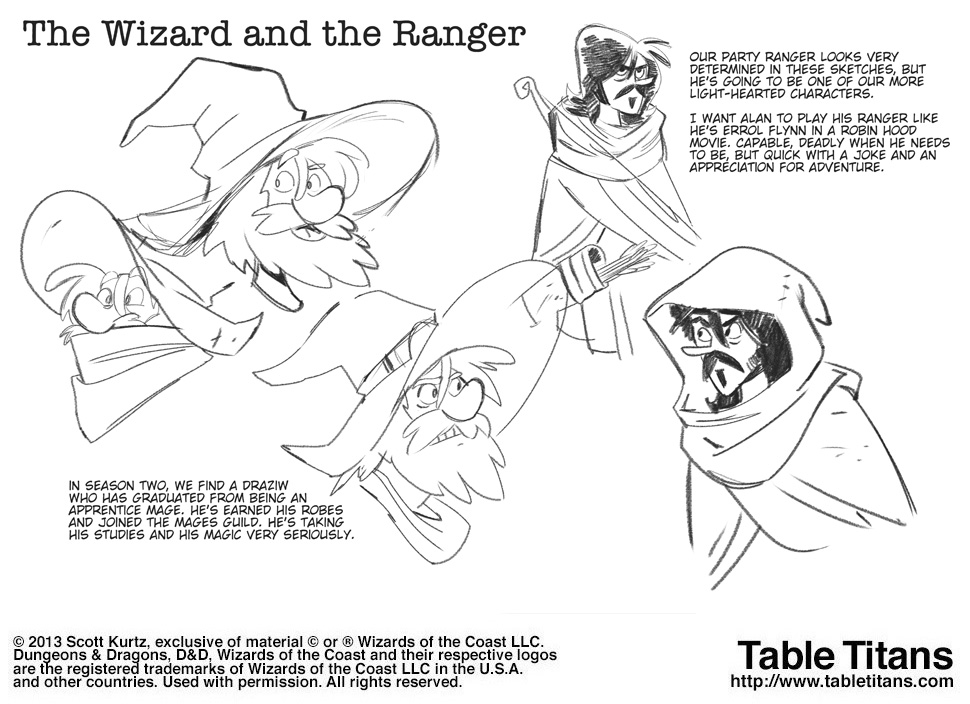 Season 2 - The Wizard and the Ranger