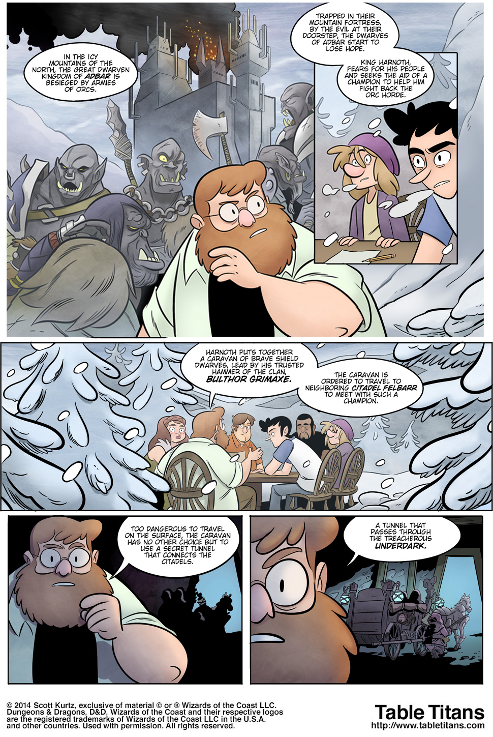 Winter of The Iron Dwarf - Page 8